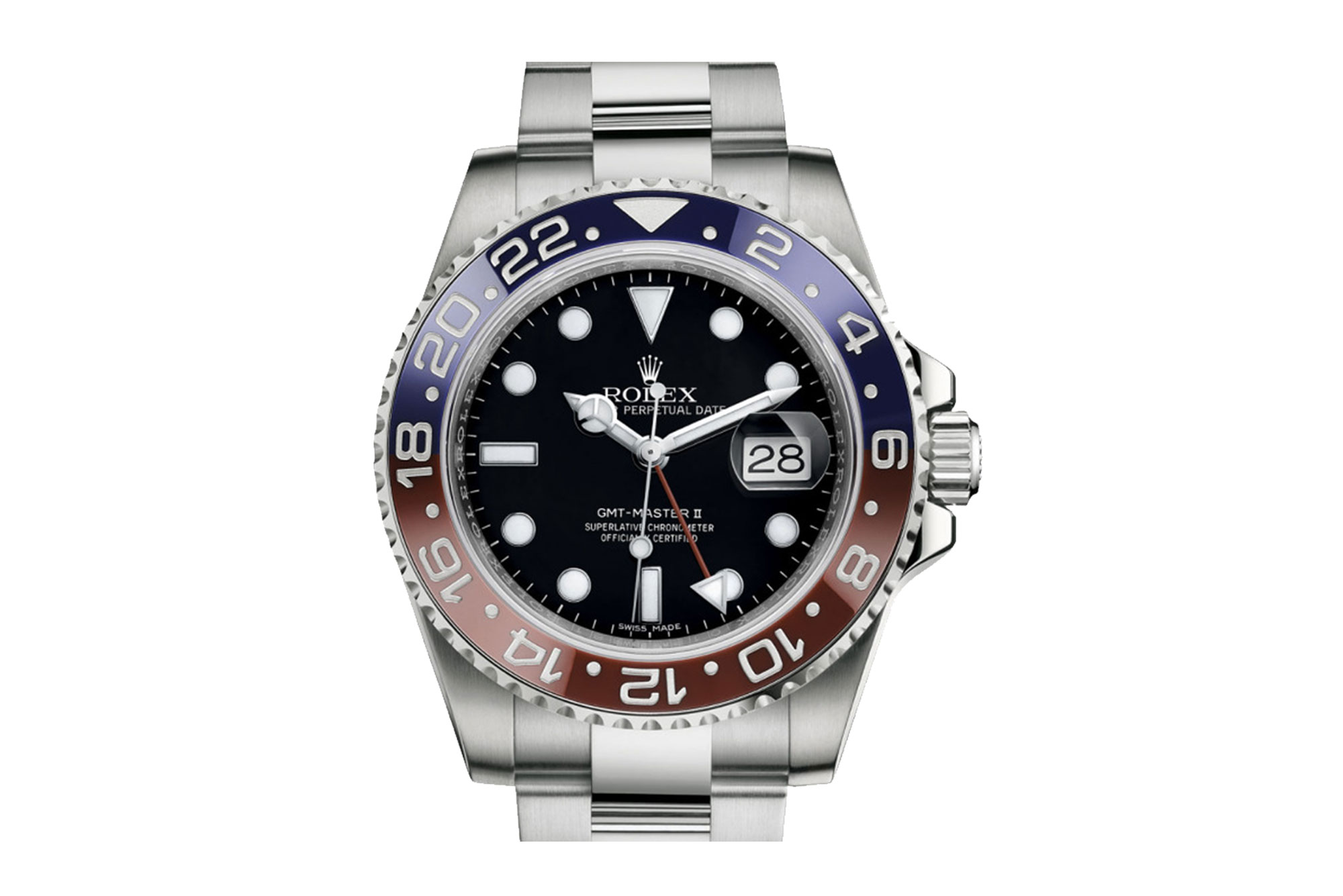ROLEX OYSTER, 40 MM GMT-MASTER II – NOW IN STORE!