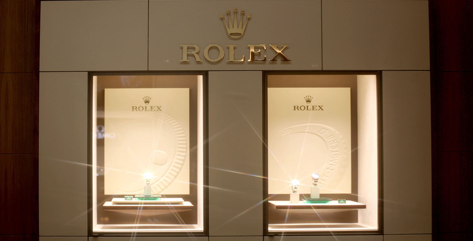 NEW ROLEX SHOWROOM – OPEN